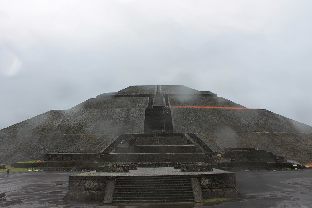 Teotihuacan, Mexico: Temple of the Sun