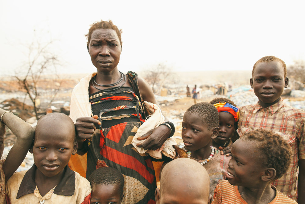 Giving Birth in Trash: Juba, South Sudan  -  The multiple layers of civil war has devastated Africa's youngest nation through famine, massacre, and displacement. Read about how the war manifested itself into the capital city's dumpsite.