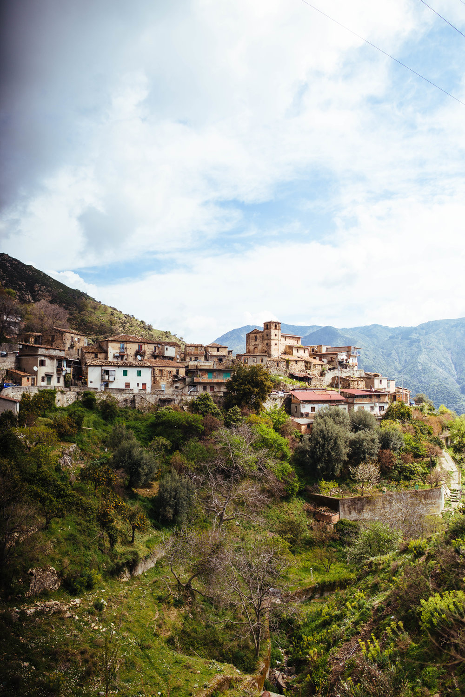 The Greko settlement of Gallicianò.
