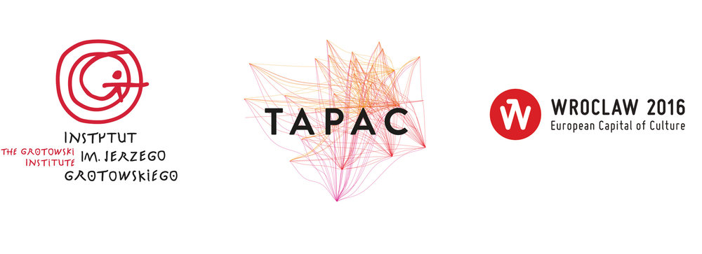 IG, TAPAC, and Wroclaw logos