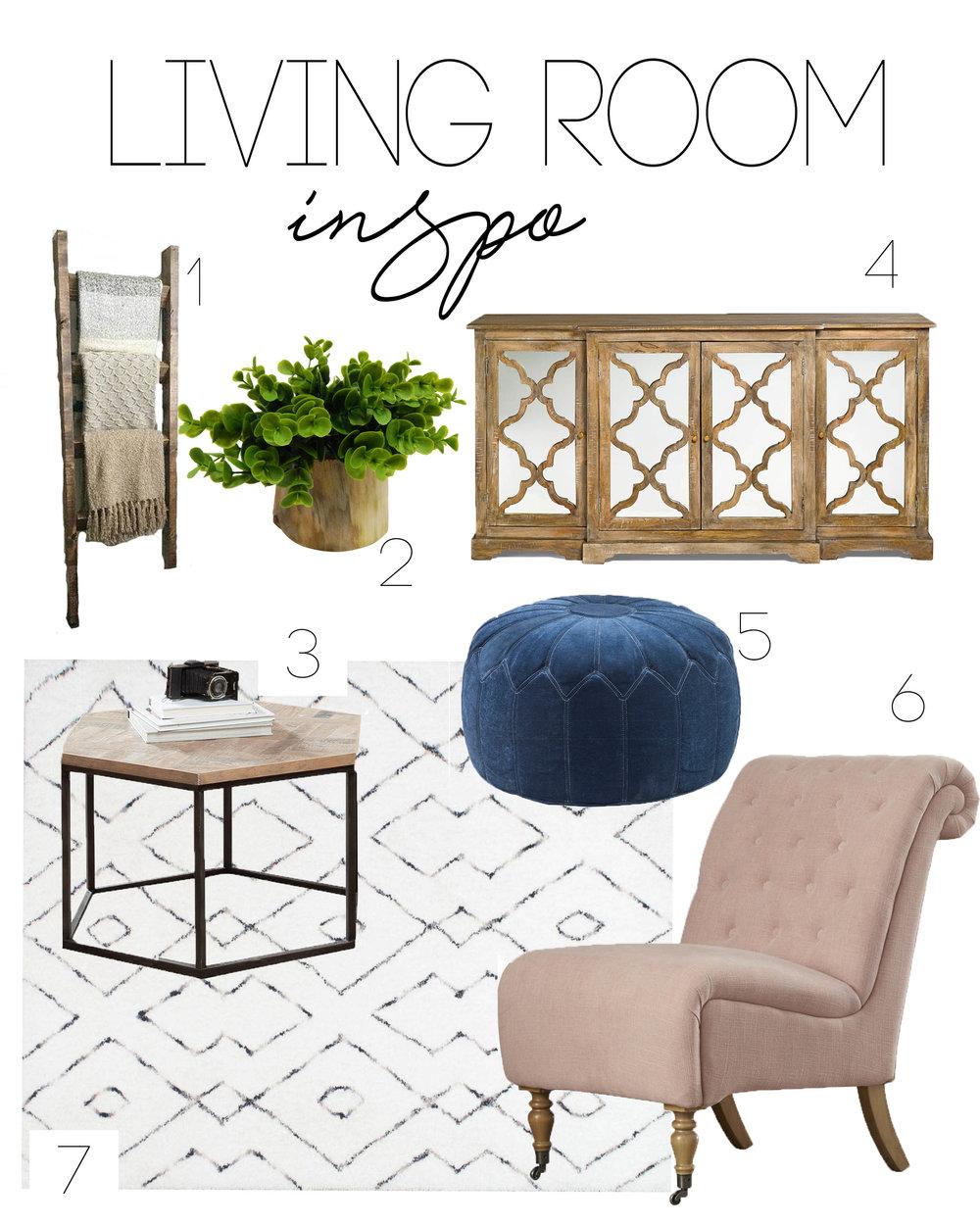 LIVING ROOM INSPO. — CHIC HUNTERS WIFE DESIGN + CO