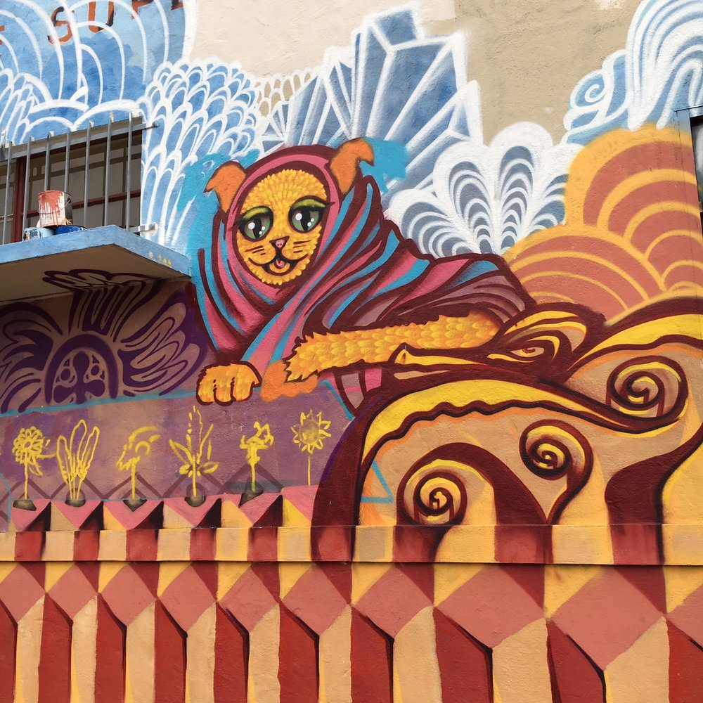Dragon School 99 Mural in Oakland