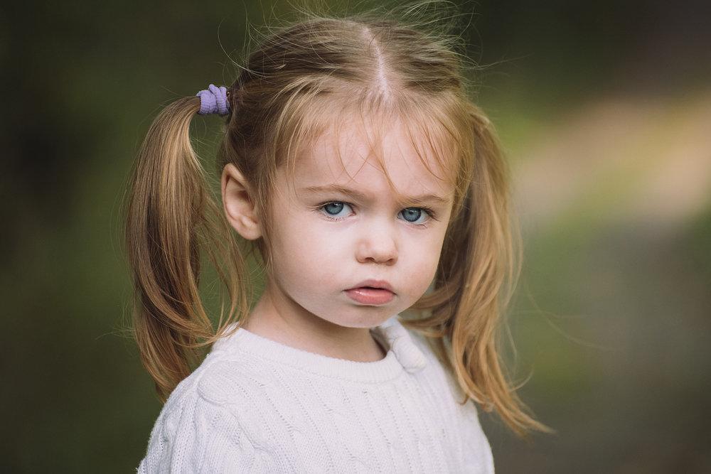 Porträtt flicka