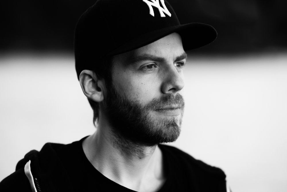 Porträtt av en fotograf