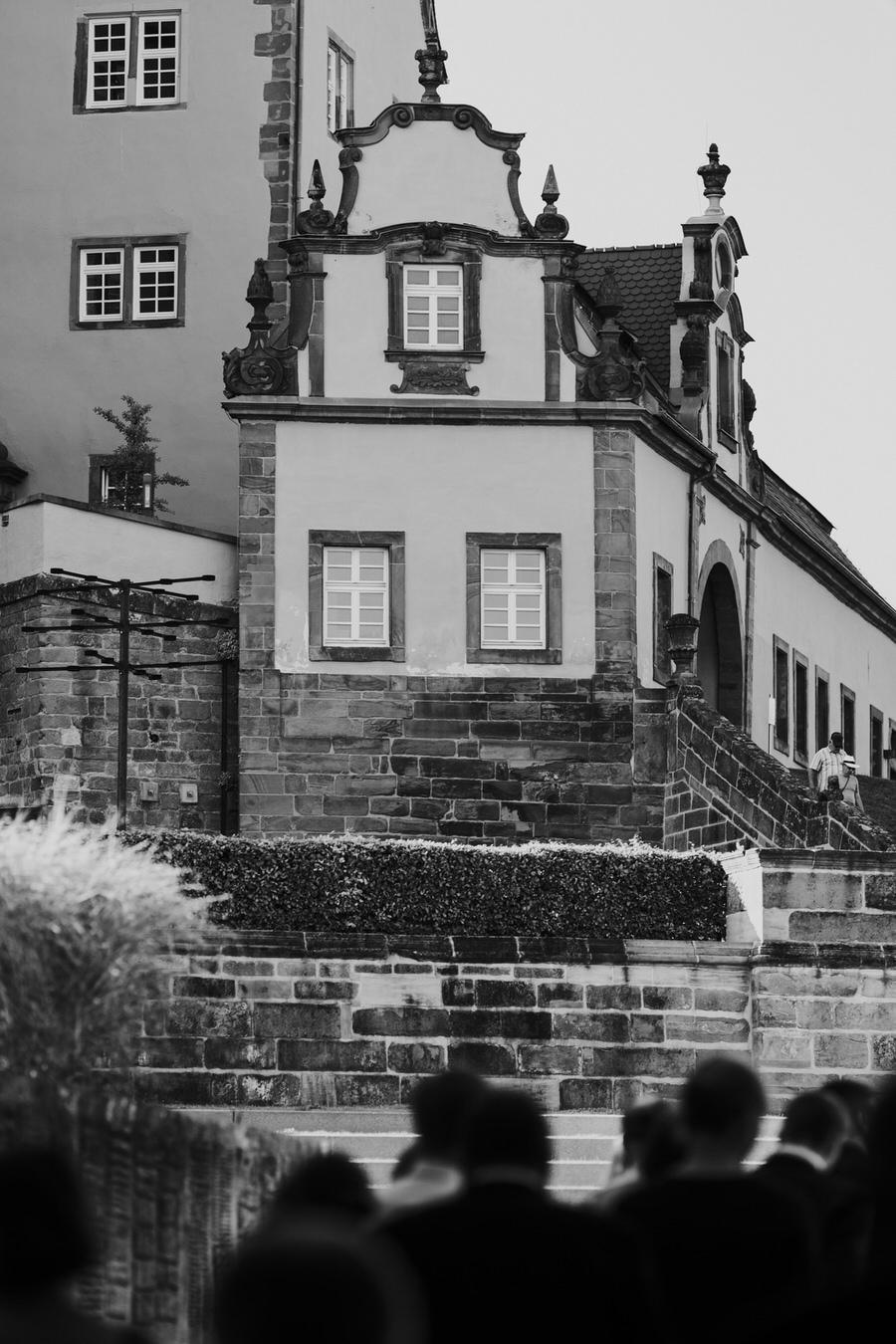 Hochzeitsfeier am Schloss Kapfenburg