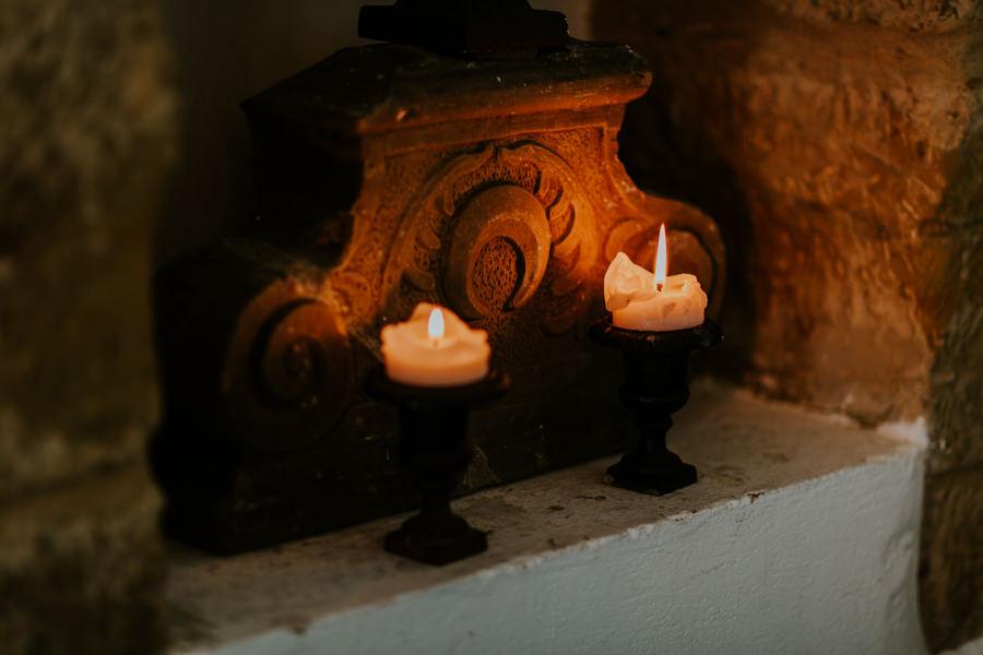 Hochzeitsfotografie Schwäbisch Hall - Kerzen bei der Hochzeit.jpg