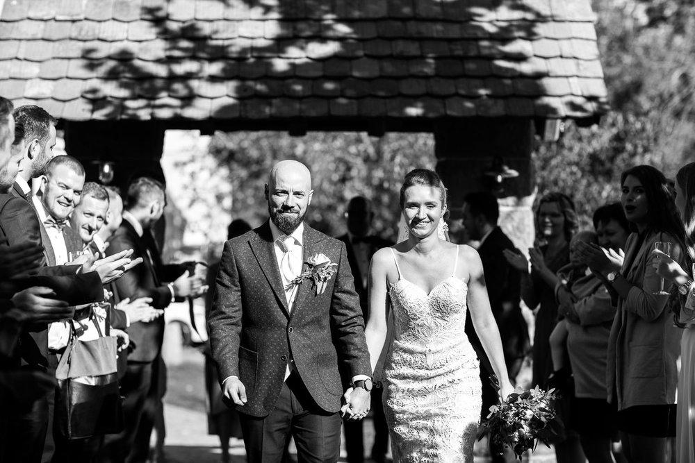 Brautpaar feiert Hochzeit im Vital Hotel mit Anastasia Vyatkina