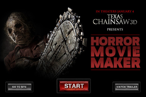 horror movie maker logo