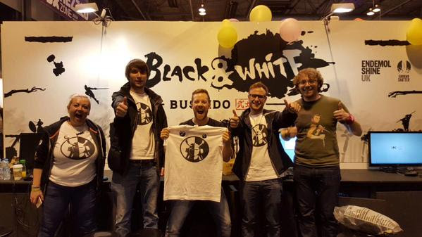 black & white team