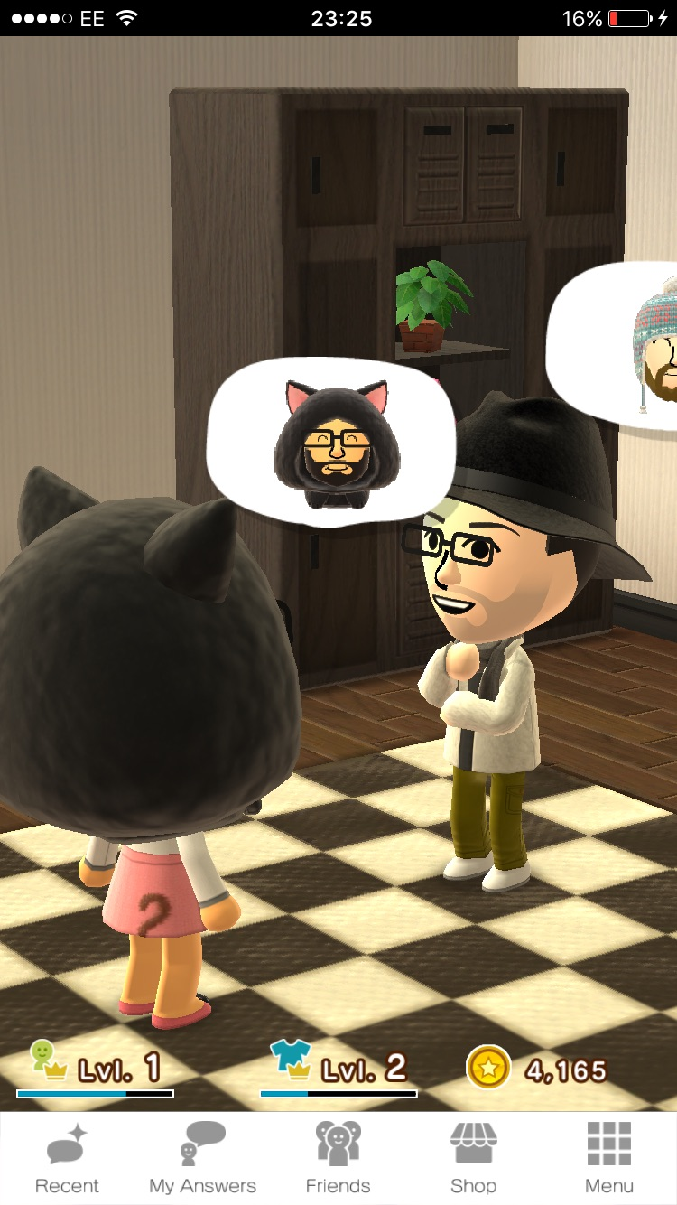 Your friend's Miis may pop by from time to time, similar to Tomodatchi Life