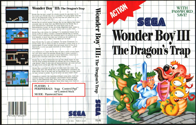 Wonder Boy 3 The Dragons Trap Gets A Remake Blast Process