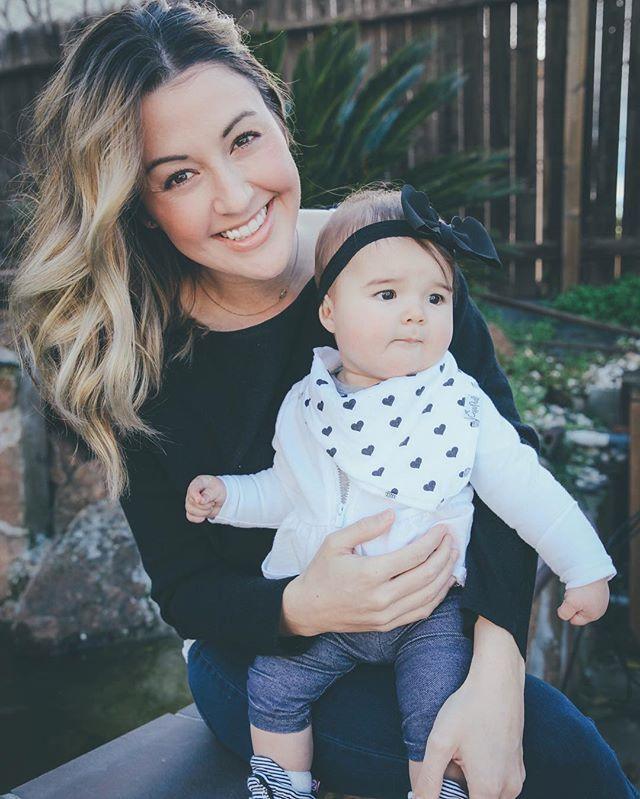 Love being her mama 🤗 📸: @natalienicolephotog
