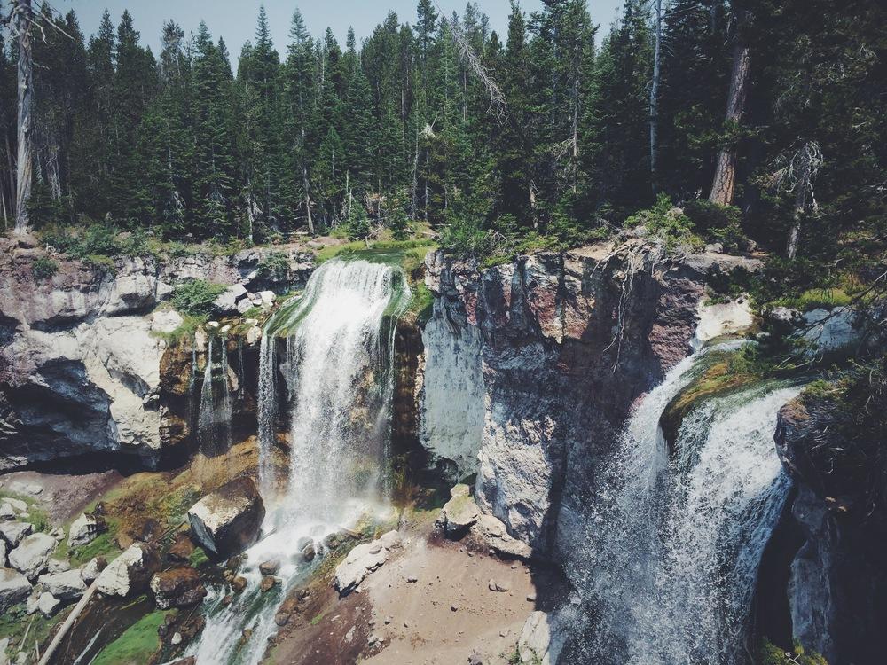 Paulina Falls.