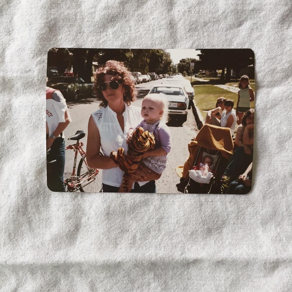 Me and my mom, circa 1980