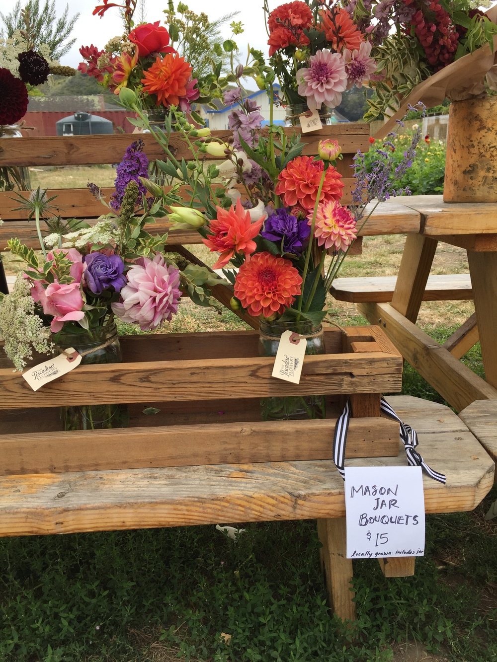 The Pescadero Flowery: U-Pick Dahlia Farm + Creative Floral Workshops