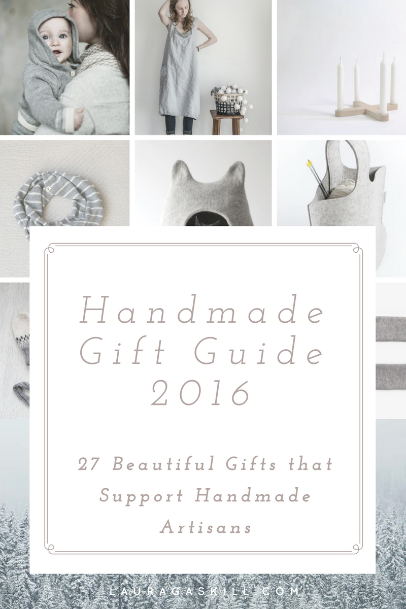 Handmade Gift Guide 2016: 27 Beautiful Gifts that Support Handmade Artisans
