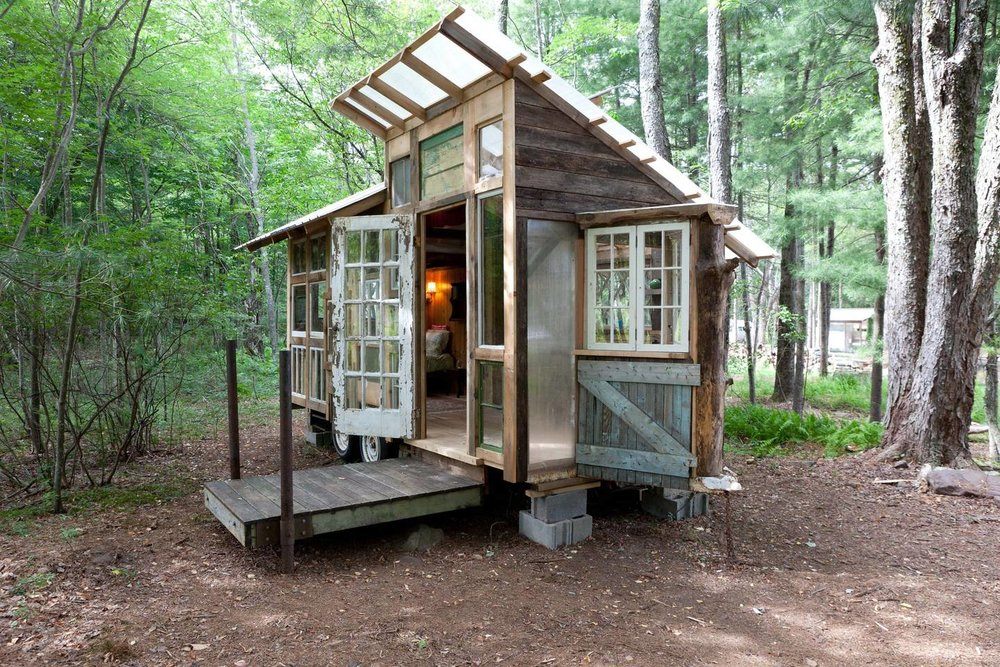 Catskills upcycled tiny house