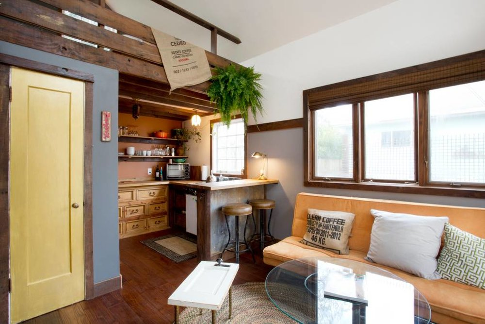 Portland, Oregon rustic modern tiny house