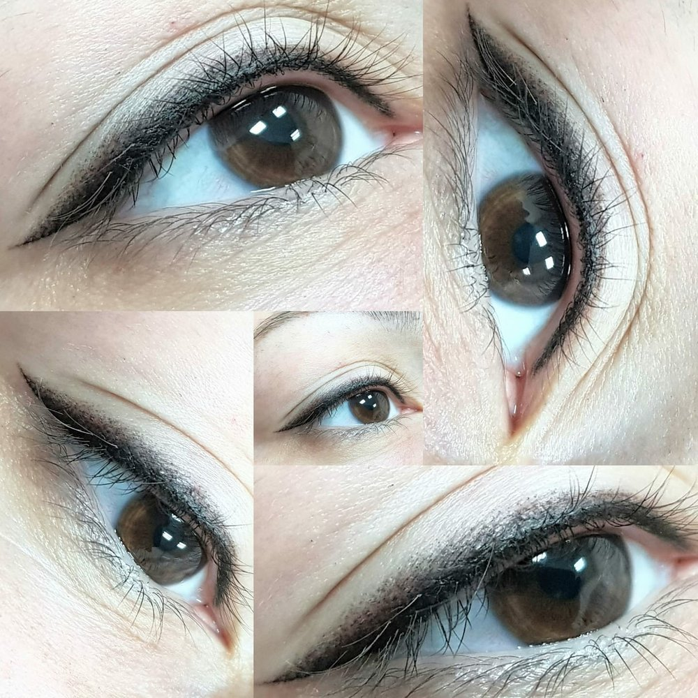 Make your eyes pop with more definition and create a darker lash line. Stardust and classic eyeliners (lash enhancement) technique to suits all eye shapes
