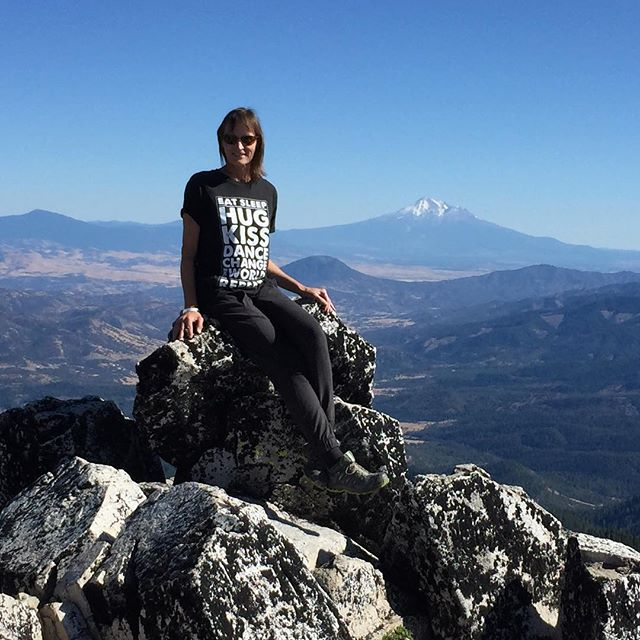 Top of Mt. Ashland....#changetheworld #repeat @michaelfranti @yomindmatters