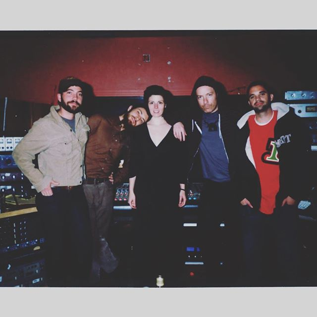 #tbt - 2009 first recording sessions at The Bank.  @carinaround @justin_rutledge @grumpybeard @danburnsmusic @dymckeever 📷: @andreadagosto