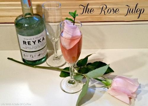 Reyka Rose Julep 2
