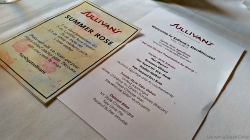 Sullivan's Steakhouse Full Menu