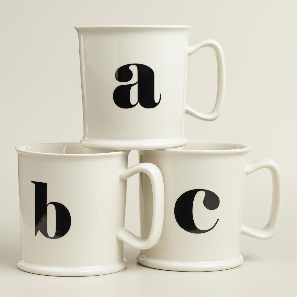 Monography Porcelain Mugs - World Market.jpg
