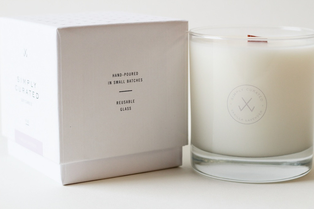 Vanilla Lavender Soy Candle - Simply Curated.jpg