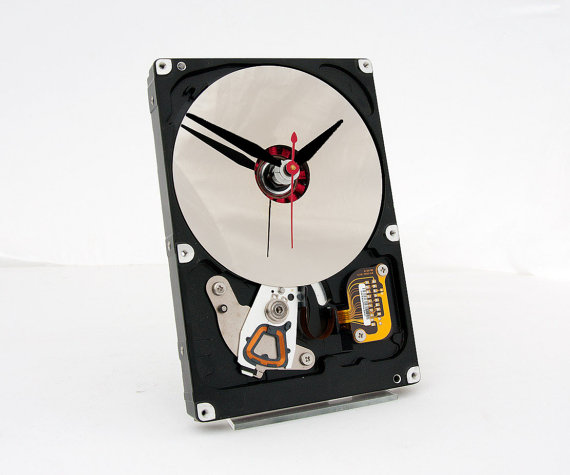 Clock Made From Computer Hard Drive - Etsy pixelthis.jpg