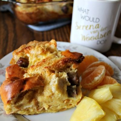 Maple Sausage French Toast Casserole
