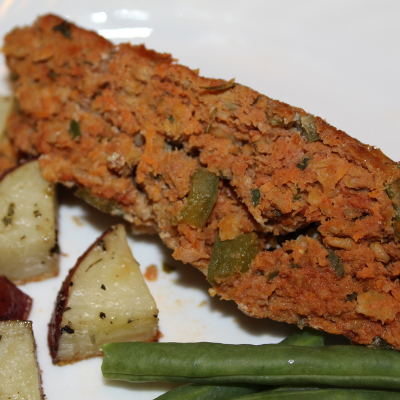 Turkey & Veggie Meatloaf