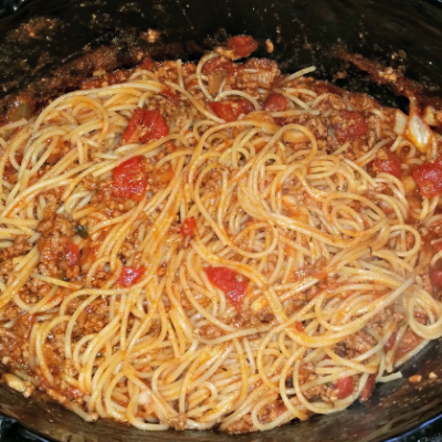 Crockpot Meat Marinara