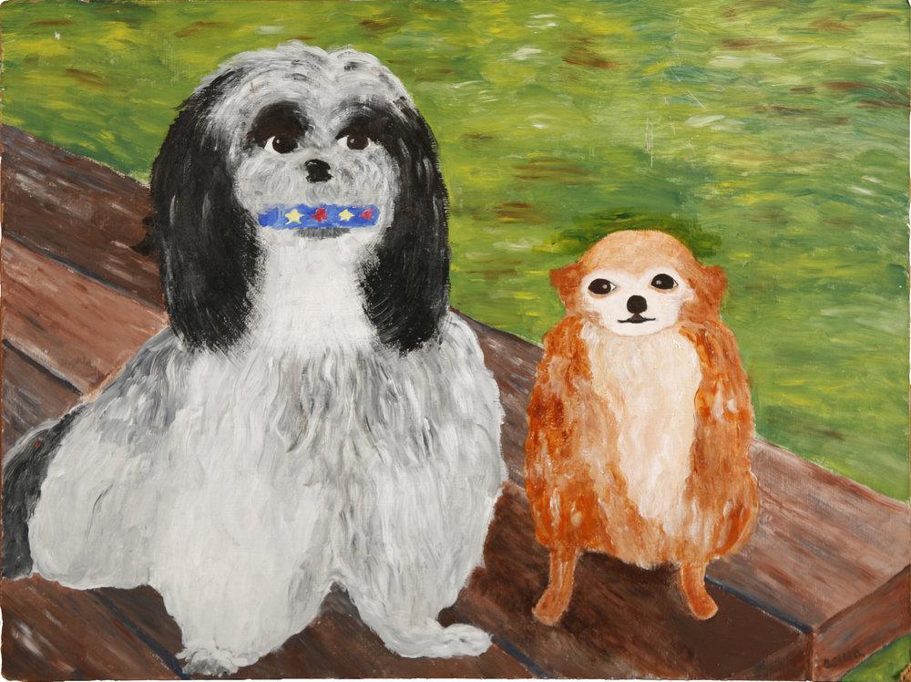 Charlie & Sheba c/o The Museum of Bad Art