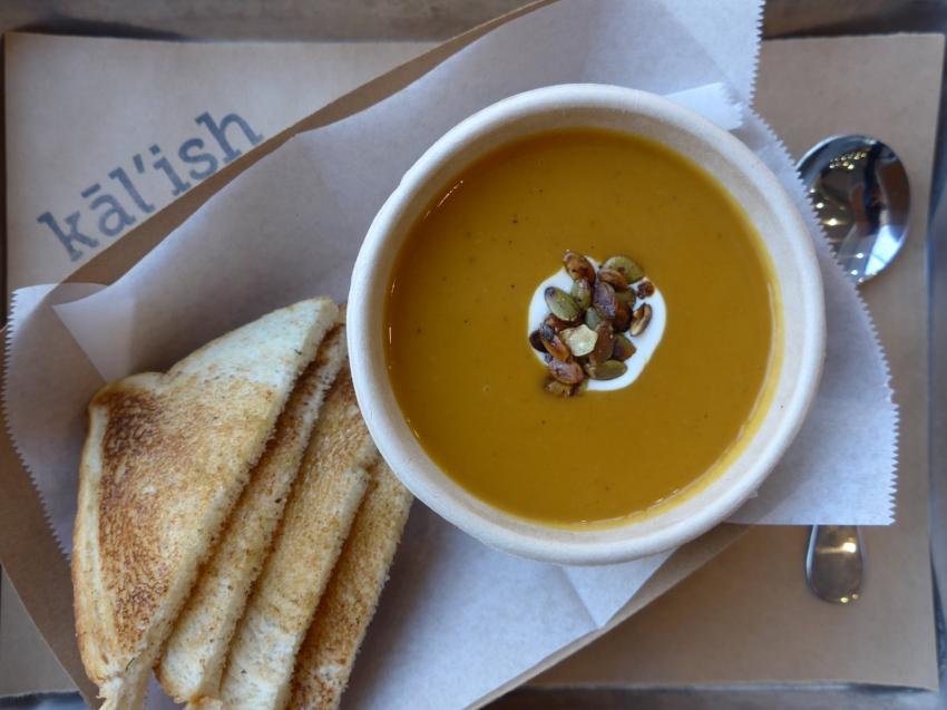 Butternut Squash Soup c/o Kal'ish