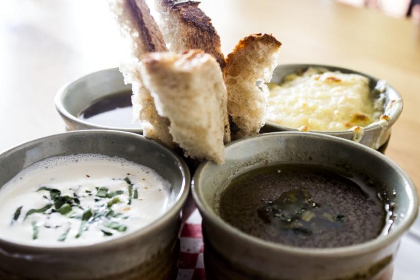 Soup Flight c/o Chez Moi