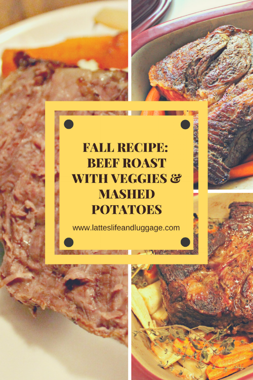 Beef Roast with Fall Veggies & Mashed Potatoes