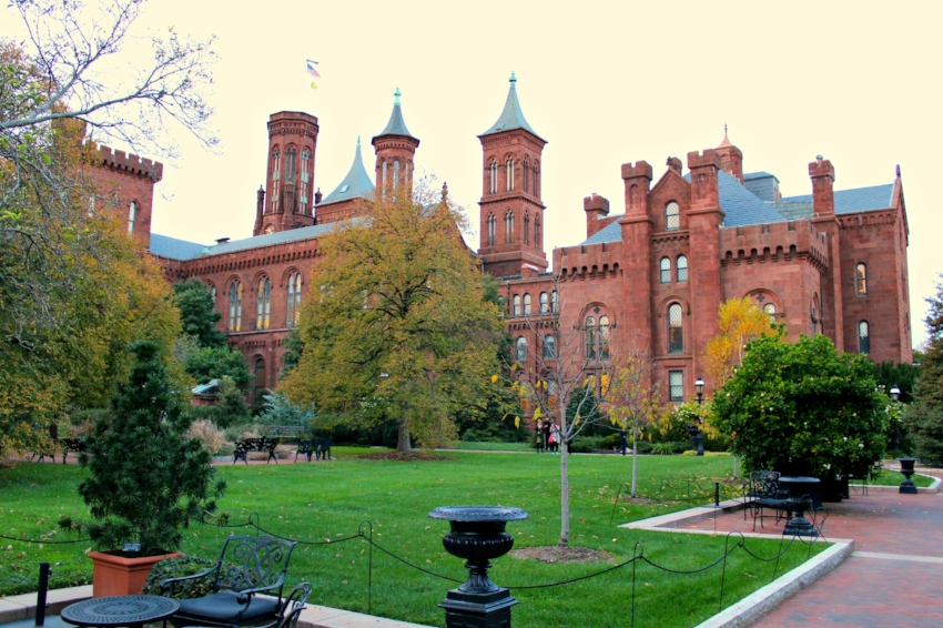 The Smithsonian Castle which isn't technically a museum but a gorgeous historical structure on the National Mall.