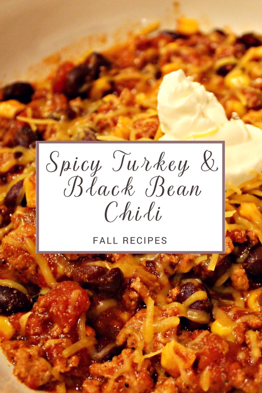 Fall Recipes - Spicy Turkey & Black Bean Chili.png
