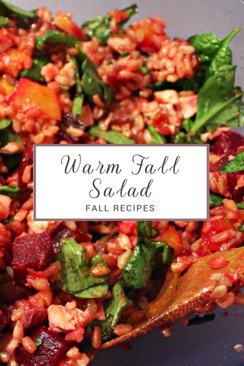 Fall Recipes - Warm Fall Salad.png