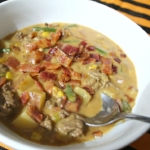 Bacon Cheeseburger Jalapeno Soup
