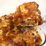 3-Cheese Lasagna with Meat Sauce