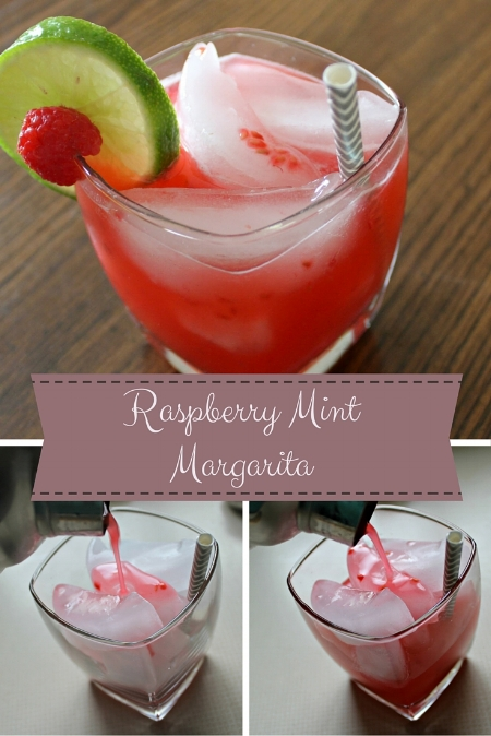 Raspberry Mint Margarita