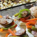 Sliced Sausage Sandwiches
