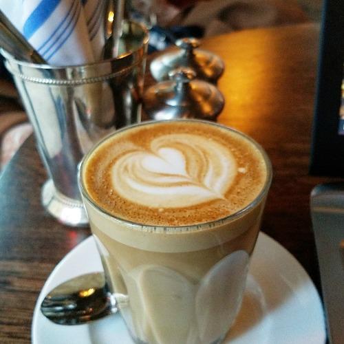 Latte at the Allis