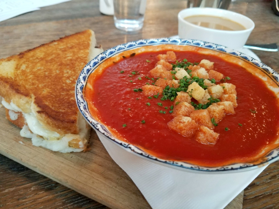 Grilled Cheese & Tomato Soup at the Allis
