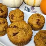 Pumpkin Cinnamon Chip Muffins