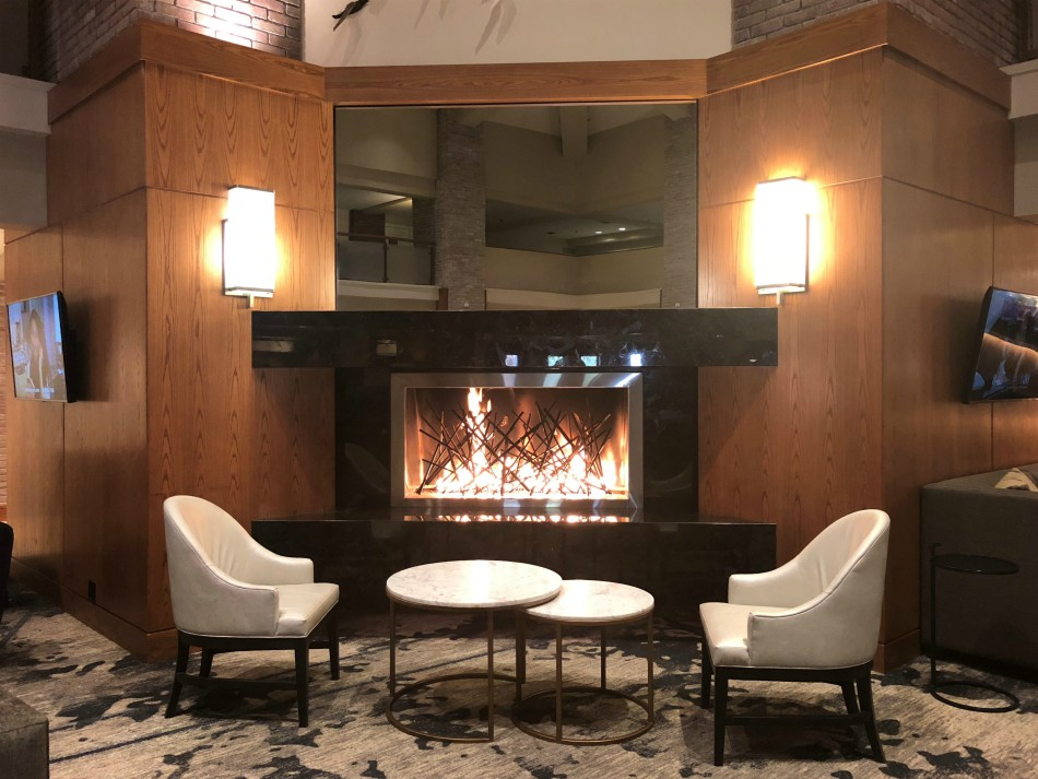 Get cozy at the Lincolnshire Marriott Resort