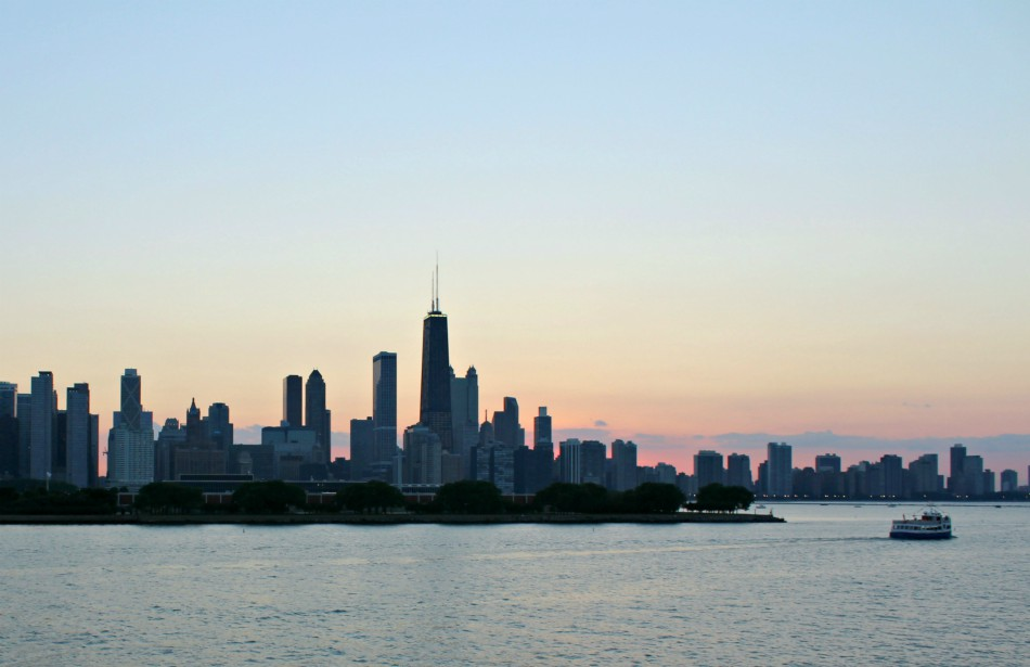 Gorgeous views from the Odyssey on a warmer Chicago day