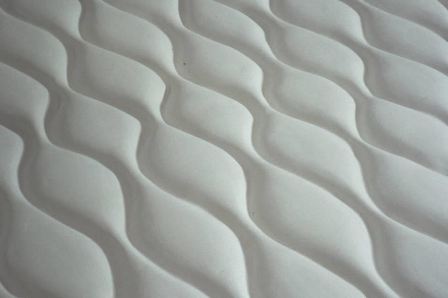 "Detail floor piece , hydrostone, fiberglass,  each floor sculpture 10 ft L x 8 ft W x 5"" tall"